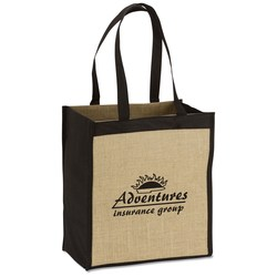 View a larger, more detailed picture of the Jute Combo Tote