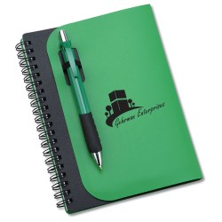 View a larger, more detailed picture of the Covert Notebook w Pen - 24 hr