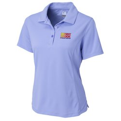 View a larger, more detailed picture of the Cutter & Buck DryTec Kingston Pique Polo - Ladies