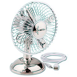 View a larger, more detailed picture of the USB Oscillating Desk Fan