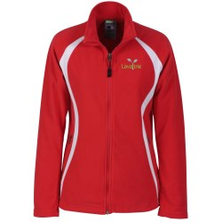 View a larger, more detailed picture of the Ecotech-Fleece100 Recycled Polyester Jacket - Ladies