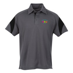 View a larger, more detailed picture of the Ecotec100 Recycled Polyester Polo - Men s