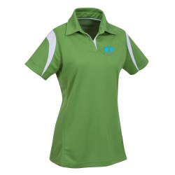View a larger, more detailed picture of the Ecotec100 Recycled Polyester Polo - Ladies