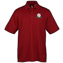 View a larger, more detailed picture of the Callaway Textured Performance Polo - Men s