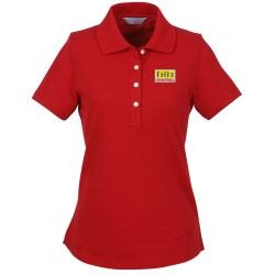 View a larger, more detailed picture of the Callaway Performance Pique Polo - Ladies