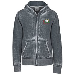 View a larger, more detailed picture of the J America Zen Full-Zip Hooded Sweatshirt- Men s - Emb