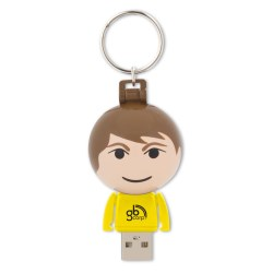 View a larger, more detailed picture of the Ball USB People - 4GB - Male