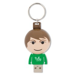 View a larger, more detailed picture of the Ball USB People - 8GB - Male