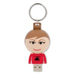 View a larger, more detailed picture of the Ball USB People - 8GB - Female