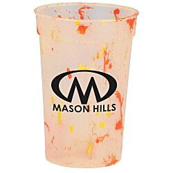 View a larger, more detailed picture of the Confetti Stadium Cup - 17 oz