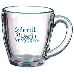 View a larger, more detailed picture of the Tapered Glass Mug - 16 oz