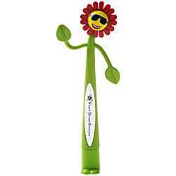 View a larger, more detailed picture of the Flower Bend-A-Pen