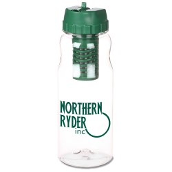 View a larger, more detailed picture of the Guzzy Filter Sport Bottle - 22 oz - Closeout