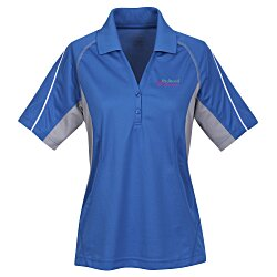 View a larger, more detailed picture of the Parallel Snag Protection Polo - Ladies