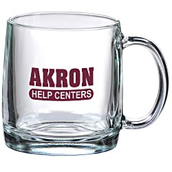 View a larger, more detailed picture of the Nordic Glass Mug - 13 oz
