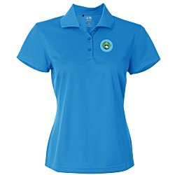 View a larger, more detailed picture of the Adidas ClimaLite Basic Polo - Ladies