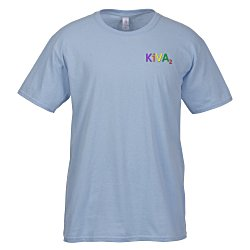 View a larger, more detailed picture of the Gildan SoftStyle T-Shirt - Men s - Embroidered - Colors