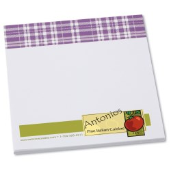 View a larger, more detailed picture of the Bic Sticky Note - Designer - 3x3 - Plaid - 25 Sheet
