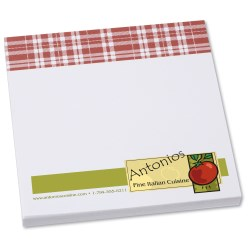 View a larger, more detailed picture of the Bic Sticky Note - Designer - 3x3 - Plaid - 50 Sheet