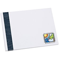 View a larger, more detailed picture of the Bic Sticky Note - Designer - 3x4 - Modern Grain - 25 Sheet