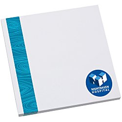 View a larger, more detailed picture of the Bic Sticky Note - Designer - 3x3 - Modern Grain - 50 Sheet