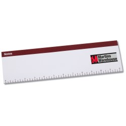 View a larger, more detailed picture of the Keyboard Notepad - Ruler
