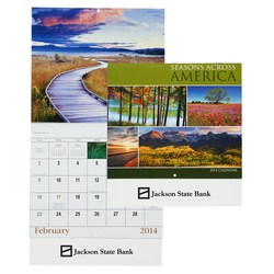 View a larger, more detailed picture of the Seasons Across America 2014 Calendar - Closeout
