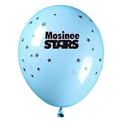 View a larger, more detailed picture of the Balloon - 11 Standard Colors - Stars