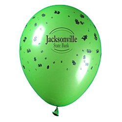 View a larger, more detailed picture of the Balloon - 11 Standard Colors - Money