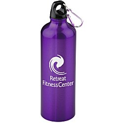 View a larger, more detailed picture of the Pacific Aluminum Sport Bottle - 26 oz - 24 hr