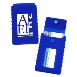 View a larger, more detailed picture of the Silicone Business Card Case - Closeout