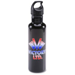 View a larger, more detailed picture of the h2go Bolt Stainless Steel Sport Bottle - 24 oz - Full Color