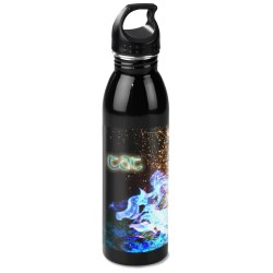 View a larger, more detailed picture of the h2go Solus Stainless Sport Bottle - 24 oz - Full Color