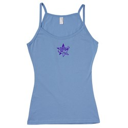 View a larger, more detailed picture of the Anvil Ladies Semi-Sheer Tank Top - Colors