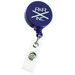 View a larger, more detailed picture of the Economy Retractable Badge Holder - RD - Opaque - 24 hr