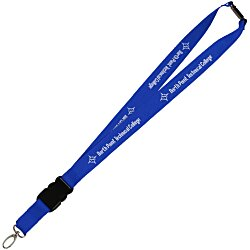 View a larger, more detailed picture of the Hang In There Lanyard - 24 hr