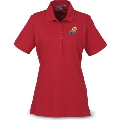 View a larger, more detailed picture of the Port Authority Textured Polo with Wicking - Ladies