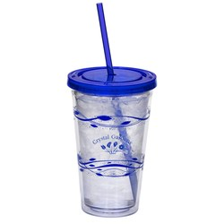 View a larger, more detailed picture of the Fluttery Color Scheme Spirit Tumbler - 16 oz - 24 hr