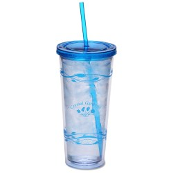 View a larger, more detailed picture of the Fluttery Color Scheme Spirit Tumbler - 20 oz - 24 hr