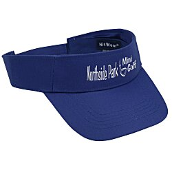 View a larger, more detailed picture of the Polyester Visor - Screened