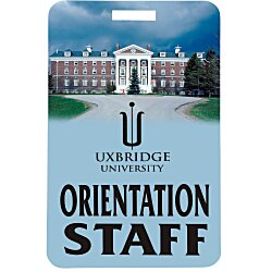 View a larger, more detailed picture of the Value Lanyard Card - 5 x 3