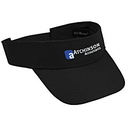 View a larger, more detailed picture of the Polyester Visor - Embroidered