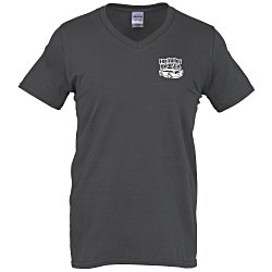 View a larger, more detailed picture of the Gildan Softstyle V-Neck T-Shirt - Men s - Colors