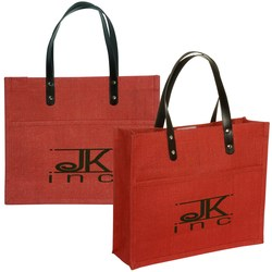 View a larger, more detailed picture of the Pensacola Jute Tote - Closeout