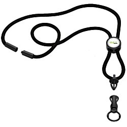 View a larger, more detailed picture of the Nylon Power Cord Lanyard - Round