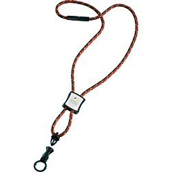 View a larger, more detailed picture of the Nylon Power Cord Lanyard - Square - Multi