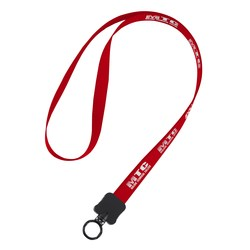 View a larger, more detailed picture of the Woven Polypropylene Lanyard - 1 2 - 34 Length