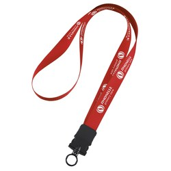View a larger, more detailed picture of the Woven Polypropylene Lanyard w Buckle Release-3 4 -34 Length