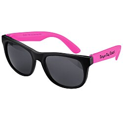View a larger, more detailed picture of the Junior Neon Sunglasses