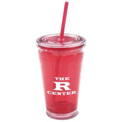 View a larger, more detailed picture of the Cool Gear Chiller Tumbler w Straw - 20 oz - 24 hr